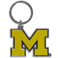Michigan Wolverines Enameled Key Chain